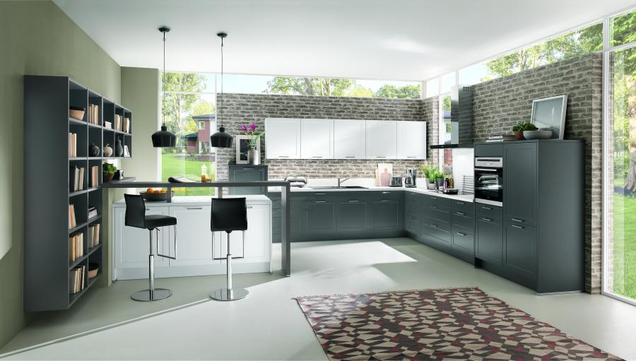 Nobilia New York Credo Kitchen and Library Cabinets