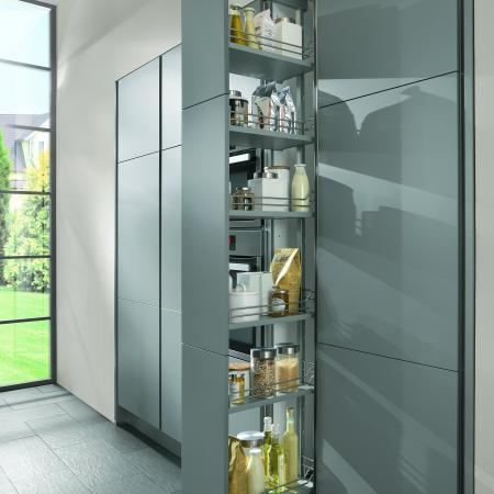 Nobilia Laser Kitchen Full Height Pullout Pantry