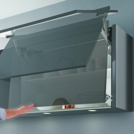 Nobilia New York Handleless Swivel Cabinet Door