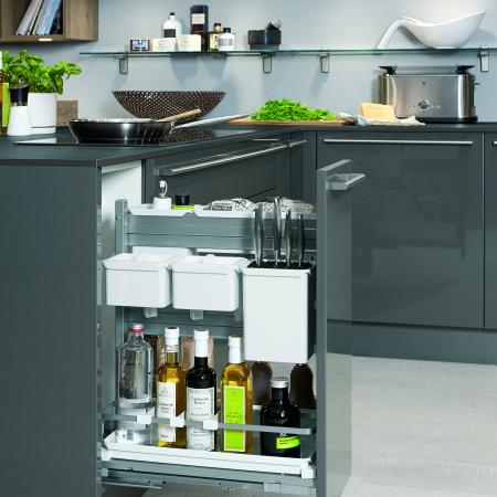 Nobilia Lux Cabinet Pullout Organizers