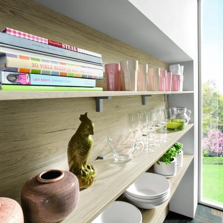 Nobilia New York Wood Reproduction Shelves