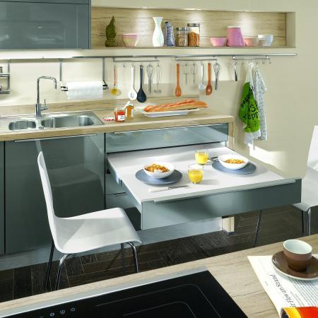 Nobilia New York Modern Kitchen Table Drawer