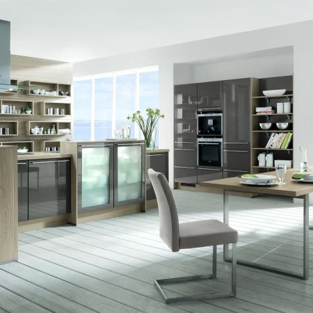 Nobilia New York Lux Kitchen and Living Room