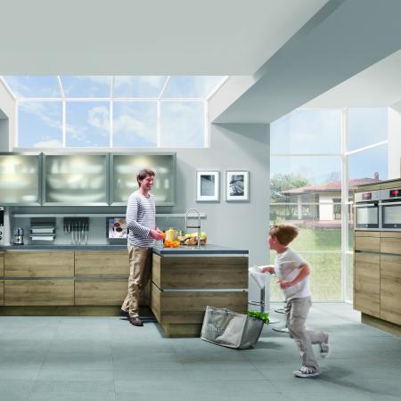 Nobilia Riva Open Kitchen for Families