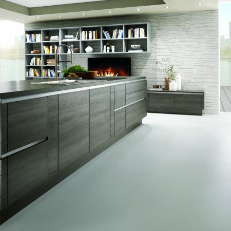 Nobilia Structura Modern Wood Kitchen