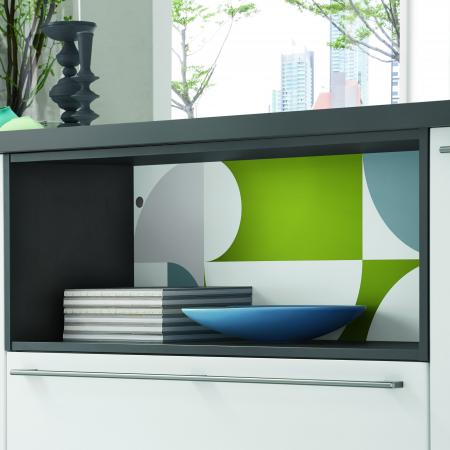 Nobilia New York Geometric Color Concept with Modern Cabinets