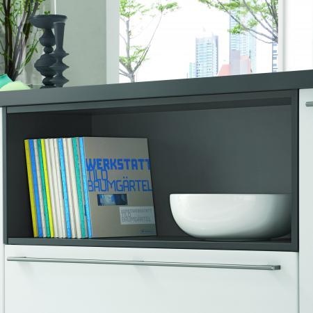 Nobilia NY Color Concept Shelves in Grey