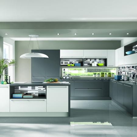 Nobilia Touch Kitchen With Contemporary Color Concept