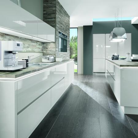 Nobilia Lux Modern Handleless Kitchen