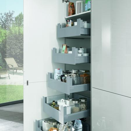 Nobilia Lux Kitchen Pullout Pantry Drawers